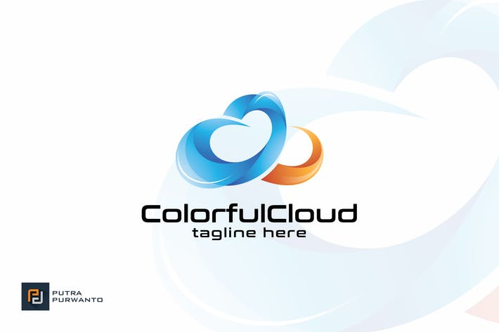 Cover Image For Colorful Cloud - Logo Template