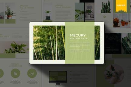Mercury   Plantilla de Presentaciones de Google