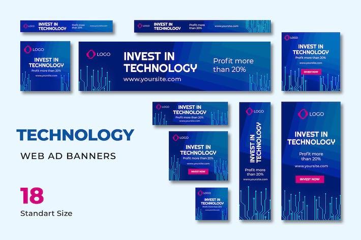 Thumbnail for Tech Web Banner