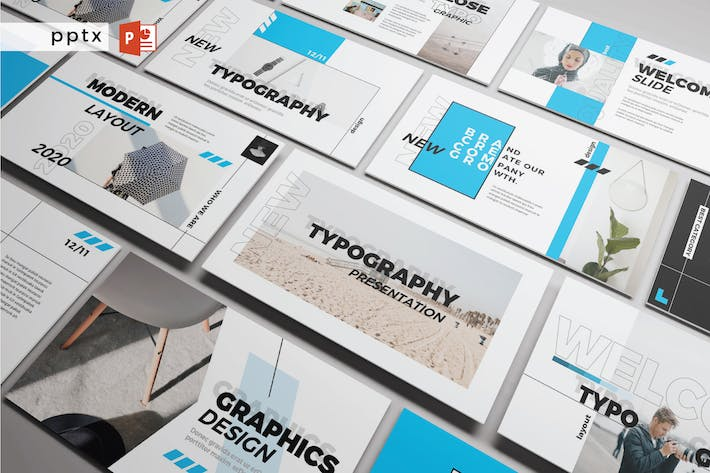 Thumbnail for NEW TYPOGRAPHY - Powerpoint  V293