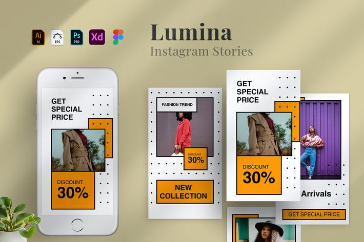 Lumina - Instagram stories Template 15
