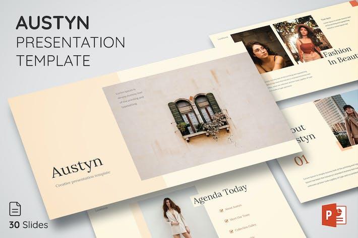 Austyn - Шаблон презентации Powerpoint