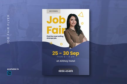 Jobmesse Flyer