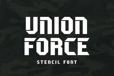 Unión Force - Visualización de la plantilla