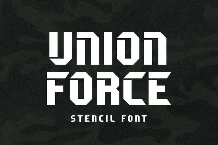 Thumbnail for Union Force - Stencil Display