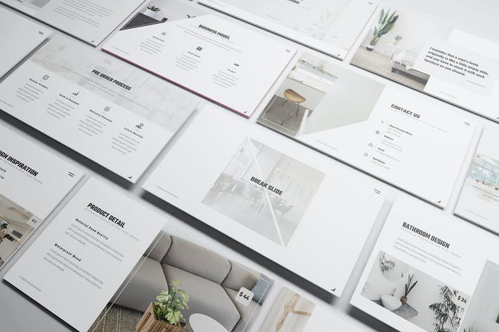 Thumbnail for Furniture Powerpoint Presentation Template