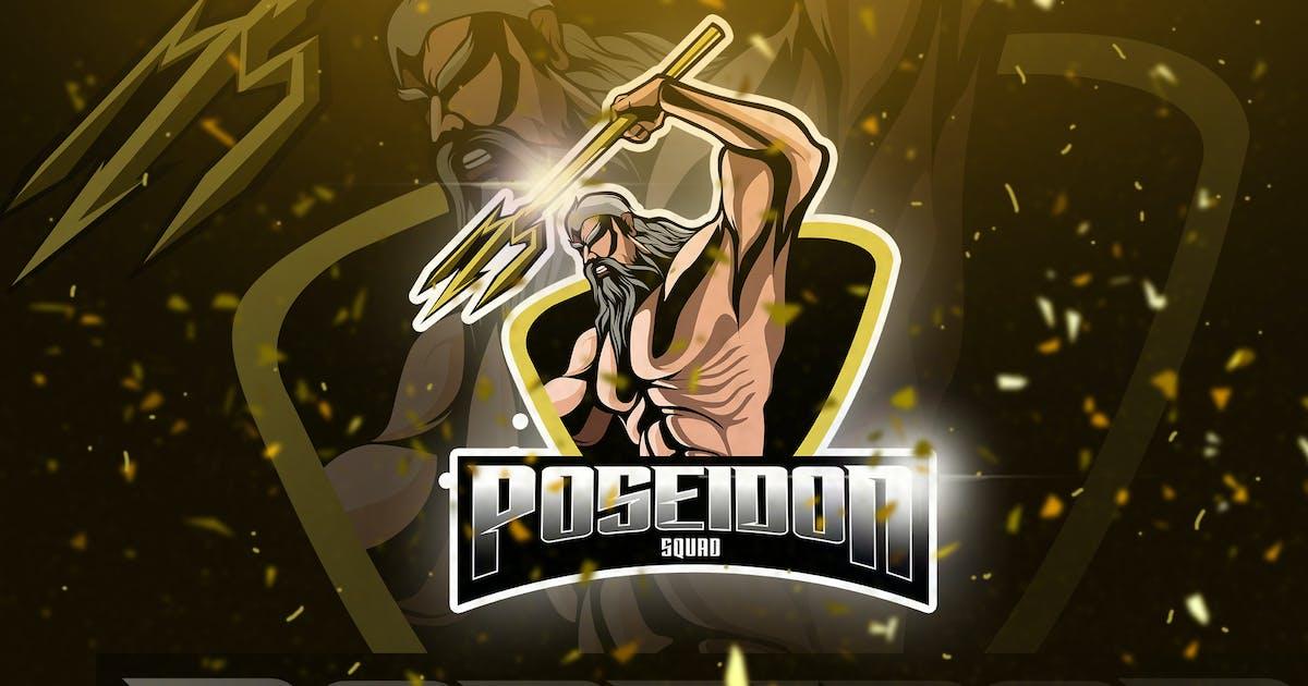 Download Poseidon - Mascot & Esport Logo by aqrstudio