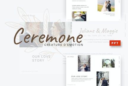 Ceremone - Wedding Powerpoint Template