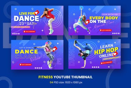 Learn Dance Youtube Miniature Modèle