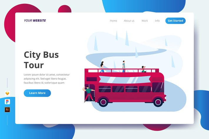 Thumbnail for City Bus Tour - Landing Page
