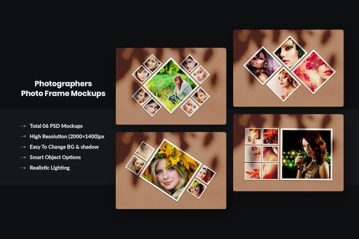 Photographers Photo Frame Mockups