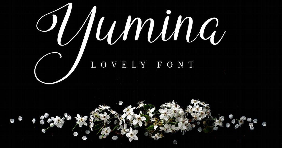 Download Yumina - Script Font by Attype-Studio