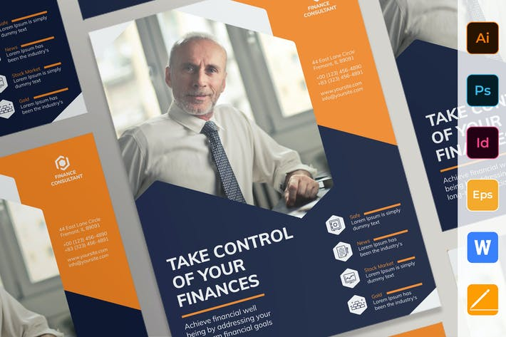 Thumbnail for Finance Consultant Poster