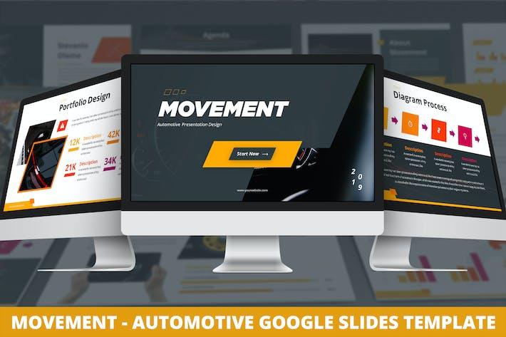 Thumbnail for Movement - Automotive Google Slides Template