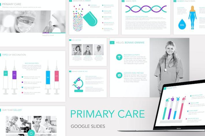 Thumbnail for Шаблон слайдов Google для первичной медицинской помощи