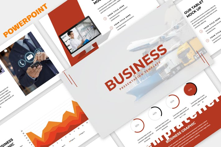Cover Image For BUSINESS Presentation Template