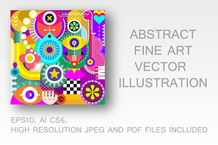 Thumbnail for Abstract Art Illustration