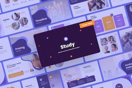 Study - Education PowerPoint Presentation