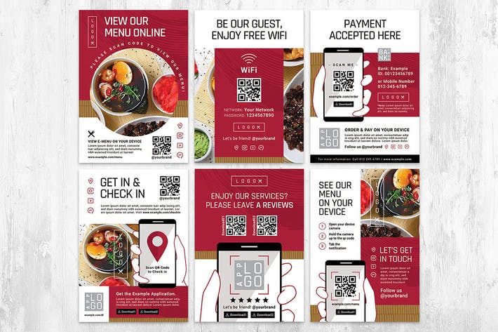 QR Code Flyer Templates