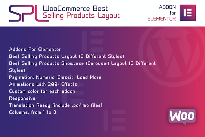 Thumbnail for WooCommerce Best Selling Products for Elementor