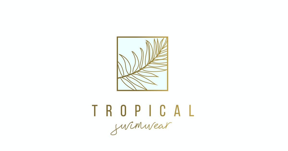 Download Tropical Palm Logo Template by 83Oranges