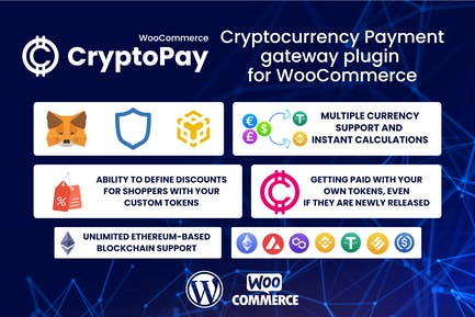CryptoPay WooCommerce - Cryptocurrency pay plugin