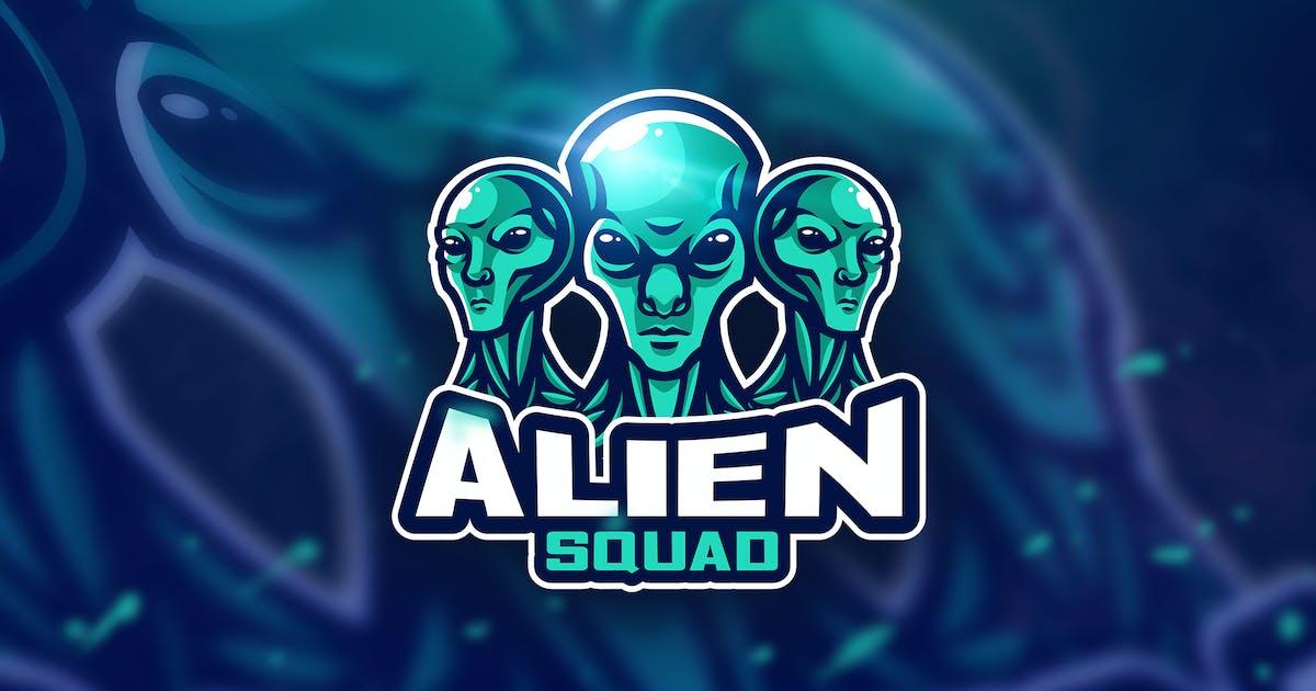 Download Alien green - Mascot & Esport Logo by aqrstudio