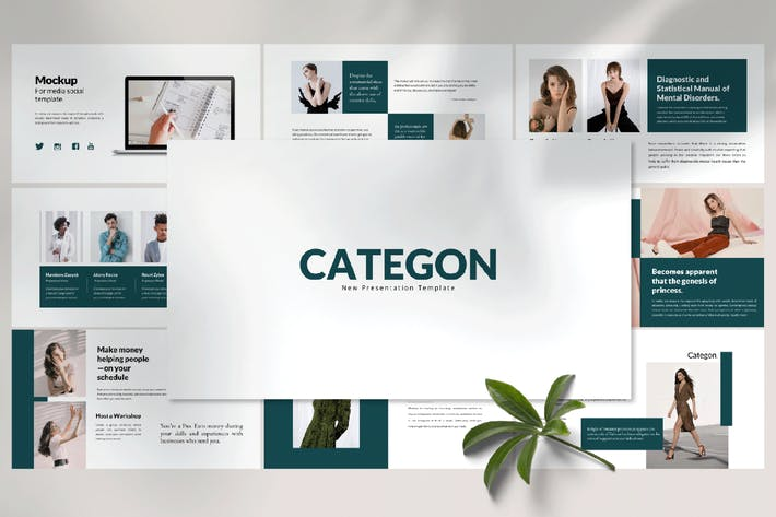 Thumbnail for CATEGON - Powerpoint Template