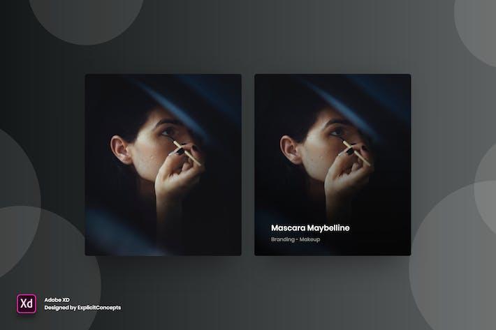 Thumbnail for Portfolio Hover State Vol 01 - Adobe XD