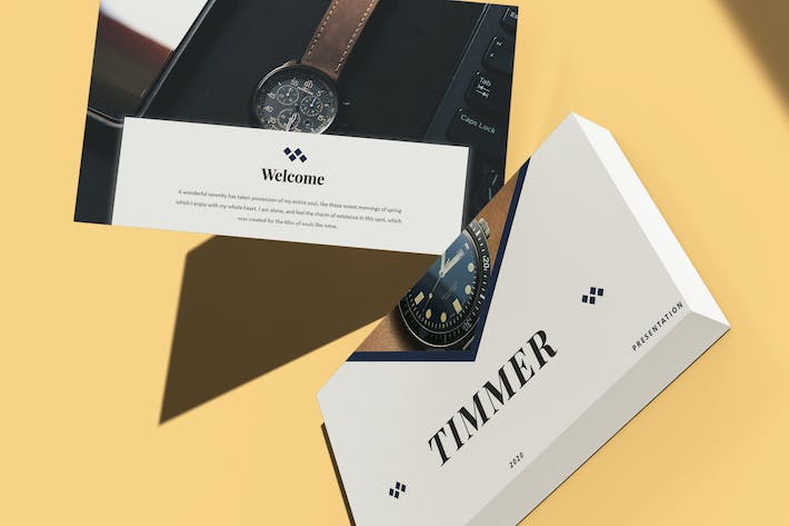 Thumbnail for Timmer - Watch Template Keynote Template