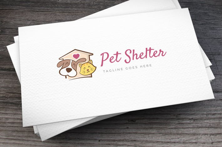 Thumbnail for Pet Shelter Logo Template