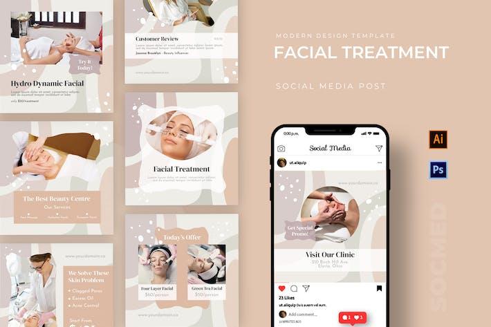 Facial Treatment Socmed Post