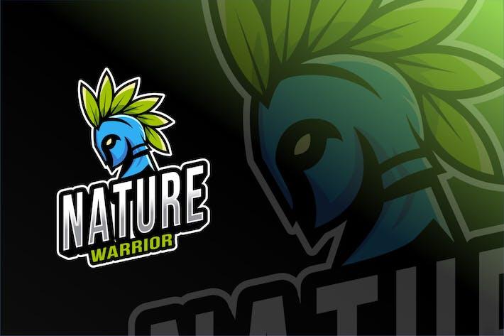 Nature Warrior Esport Logo Template