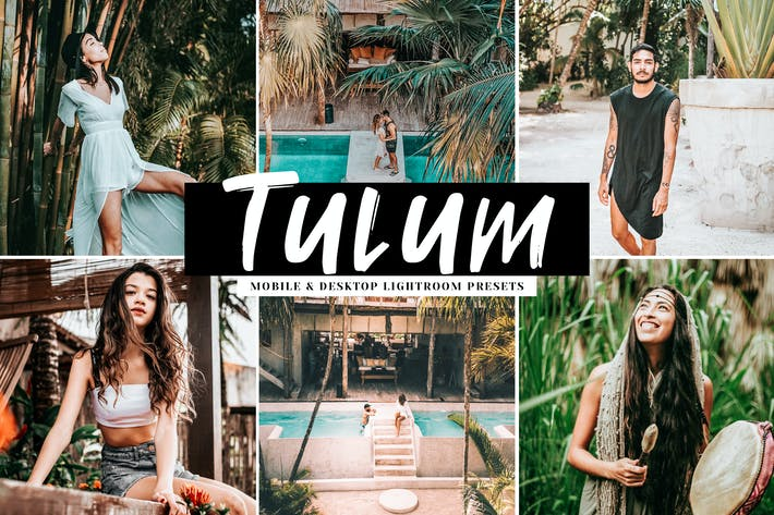 Thumbnail for Tulum Mobile & Desktop Lightroom Presets