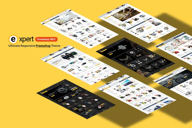 Expert Responsive Prestashop 1.7&1.6 Theme - product preview 0