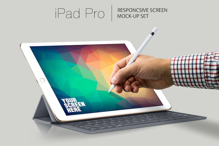 Thumbnail for iPad Pro Responsive Mockup