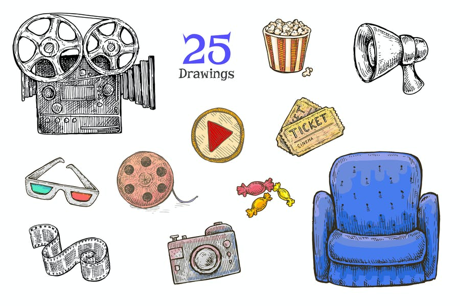 Kino (Film) Set