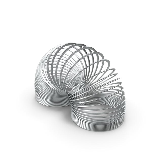 Metal Toy Spring Curved