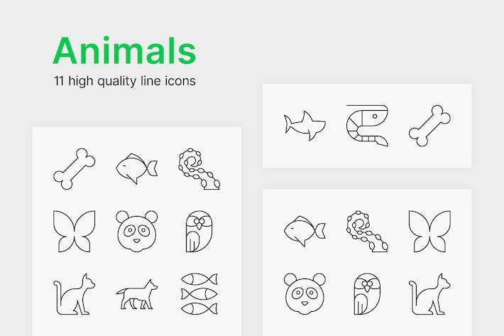 Thumbnail for Animal Icons