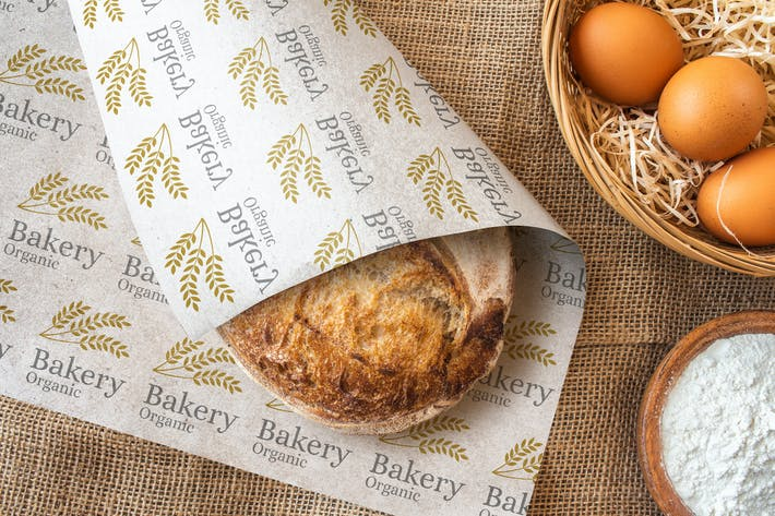 Thumbnail for Bakery Bread Wrapping Paper