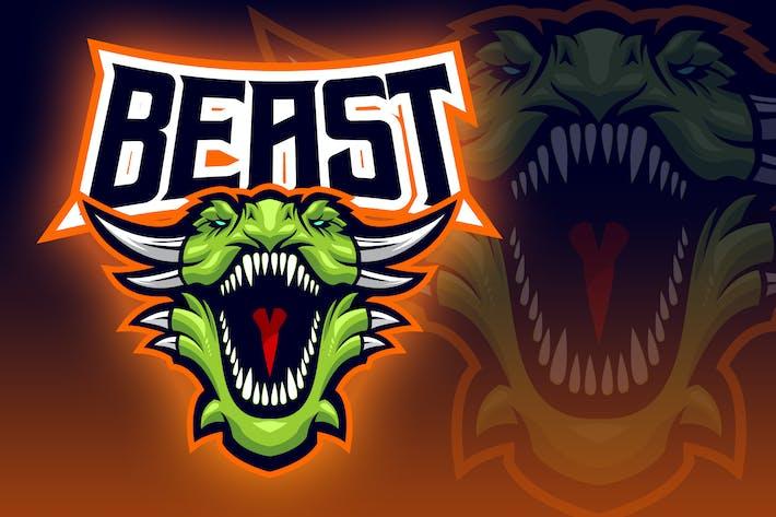 Thumbnail for Fierce Dragon Esport Logo