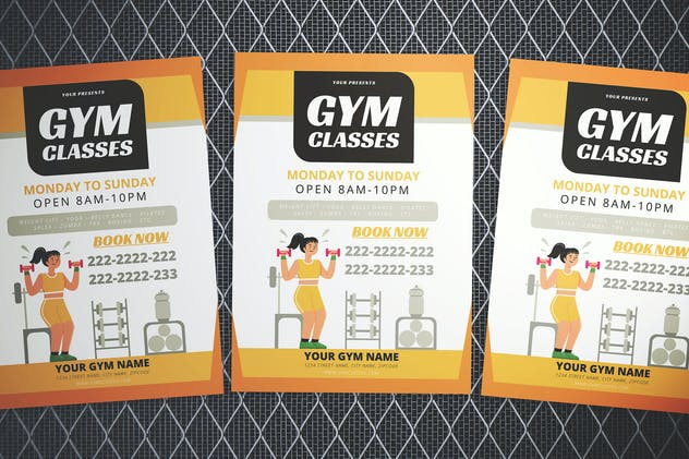 Gym Flyer - product preview 0