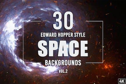30 Edward Hopper Stil Space Hintergründe - Vol.2