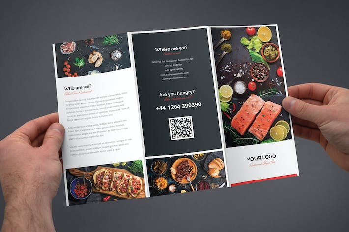 Thumbnail for Brochure – Restaurant Tri-Fold