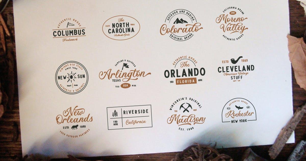 Download 12 Adventure Logo Package by saridezra