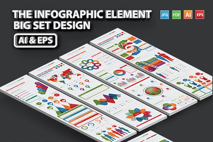Cover Image For Infographics Elements Template