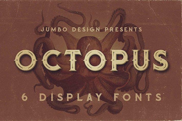 Thumbnail for Pulpo - Fuente de estilo vintage