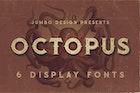 Octopus - Vintage Style Font