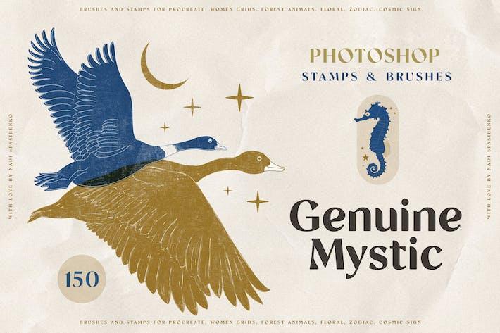 Оригинальные марки Mystyc Photoshop
