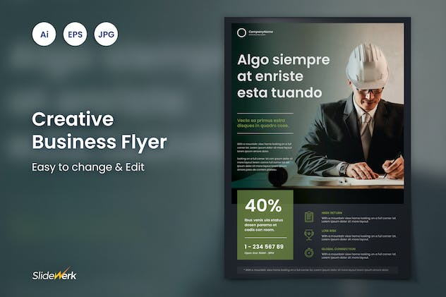 Creative Business Flyer 26 - Slidewerk